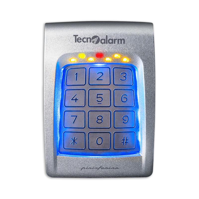 DIGITEX tastiera di comando per esterni IP 65 antivandalo