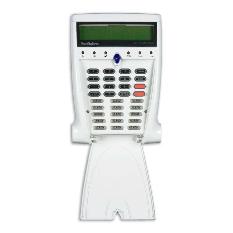 Console di comando LCD300S con display Tecnoalarm